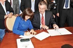 La Presidente Polverini e il Sindaco Bruschini
