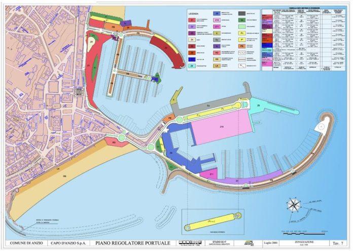 Il progetto del nuovo porto di Anzio