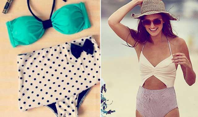 Costumi da bagno le tendenze beachwear per l estate 2015 inliberauscita - Costumi da bagno prima classe ...
