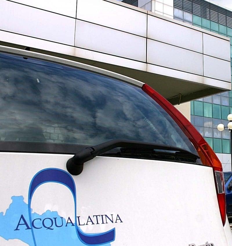 Latina - edifici pubblici - La sede di Acqualatina