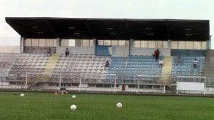 Lo stadio Bruschini di Anzio